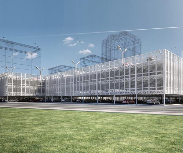 HEATHROW Modular Car Park Construction